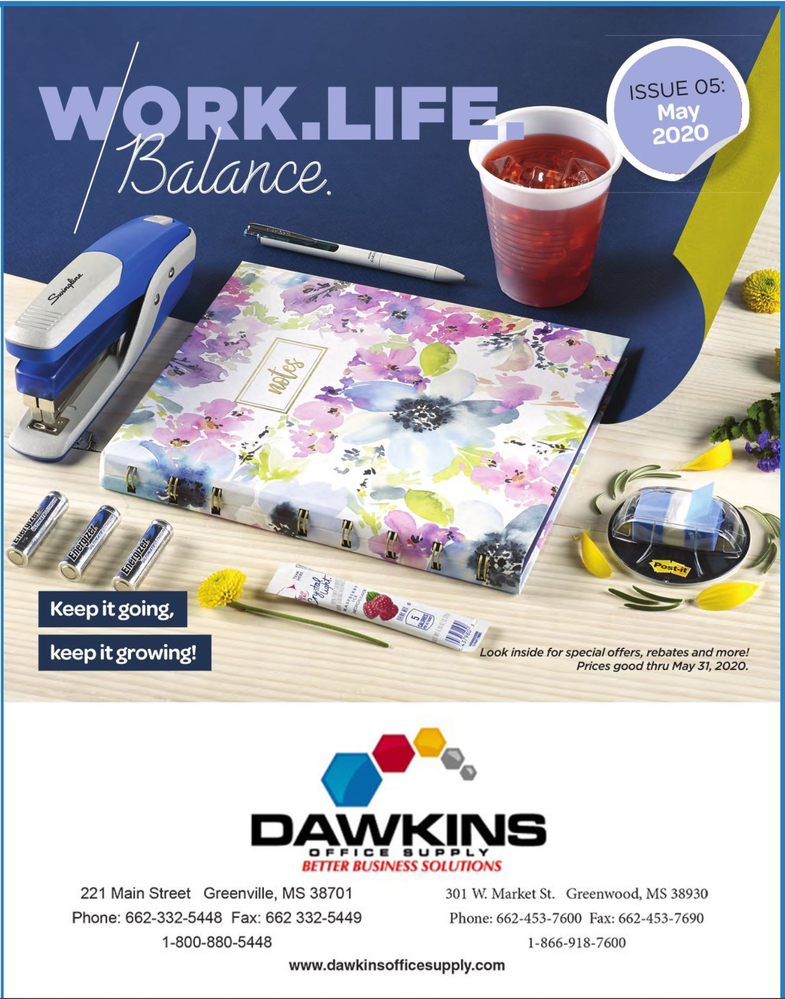 MAY 2020 WORKLIFE FLYER